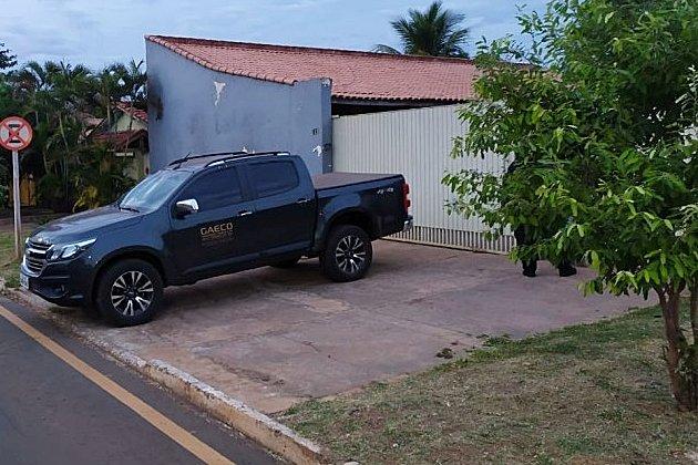 Gaeco durante a Operação Piromania (Foto: Divulgação)
