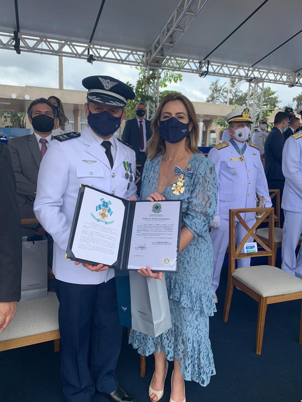 Sen. Soraya - Ordem do Mérito Aeronáutico