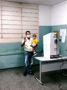 Nildo Alves durante votação Foto: Foto: O pantaneiro