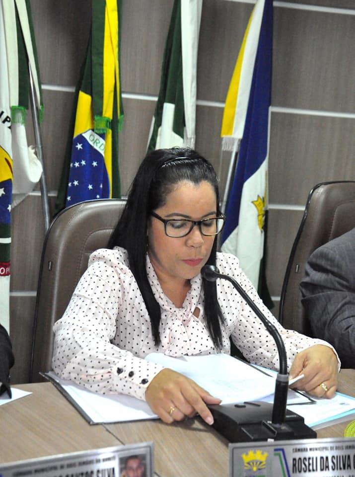 Ver. Roseli Gomes/ Foto Karlão