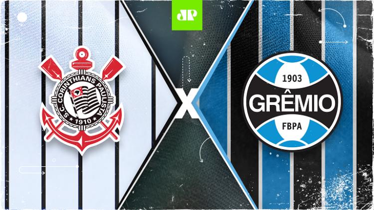 Corinthians x Grêmio: assista à transmissão da Jovem Pan ao vivo