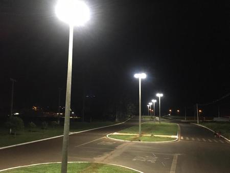 Trecho prolongado da Avenida Antero ganhou iluminação (Fotos: Gledson Rocha)