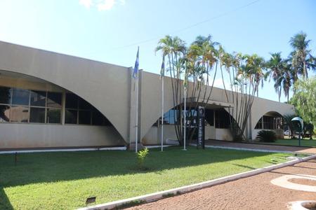 Paço Municipal de Sidrolândia (Foto: Karina Souza)