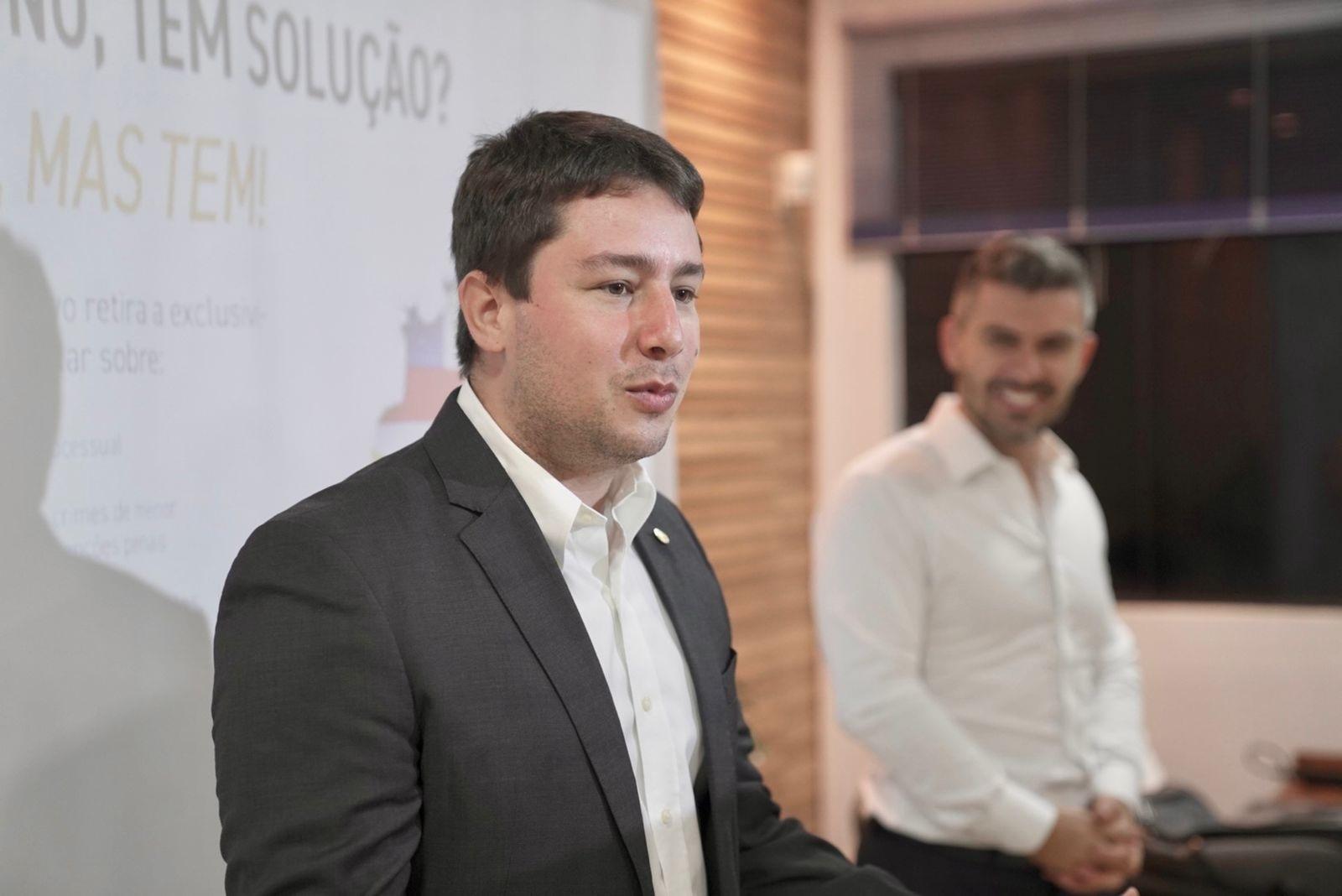 Dep. João Henrique(MS) e Bruno Souza (SC)/Foto: Assessoria